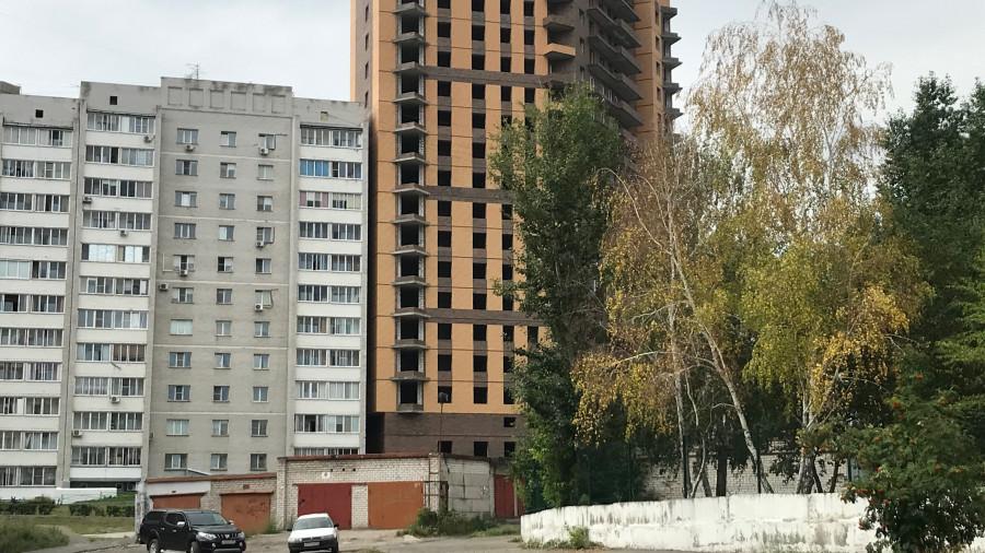 Новостройка в центре Барнаула.