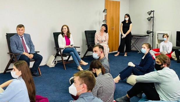 Коворкинг-сессия с замминистра образования РФ.