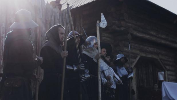 Белоярская крепость. Реконструкция средневековья.
