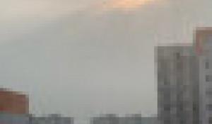 Дымка в Барнауле, 6 августа 2021 года.