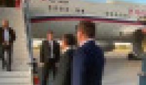 Владимир Путин прилетел в Челябинскую область.