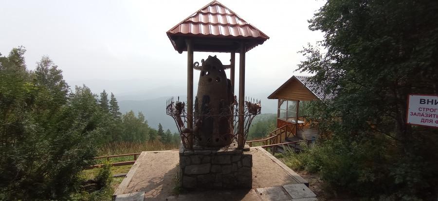 На горе Церковка.