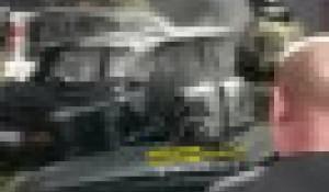 В Барнауле загорелся автомобиль ВАЗ-2106.