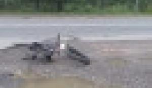 В Новосибирске насмерть сбили велосипедиста.