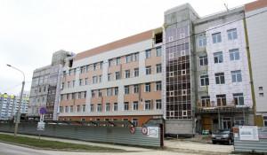 Строительство 14-й поликлиники.