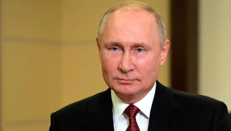 Президент РФ Владимир Путин обратился к нации