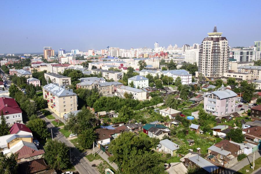 Панорама Барнаула.