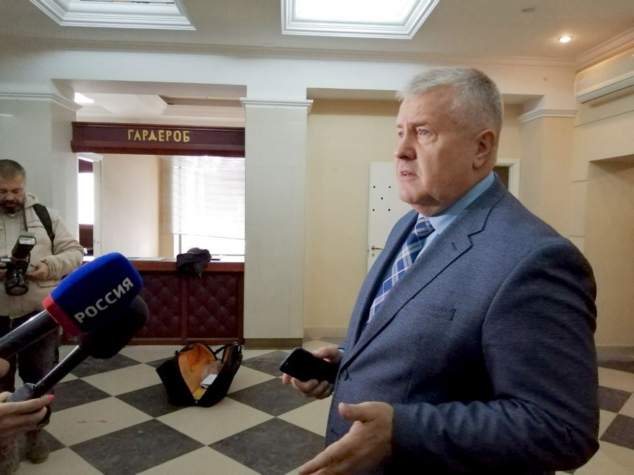 Председатель комитета по культуре Валерий Паршков.