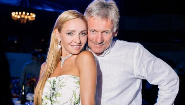 Татьяна Навка и Дмитрий Песков.