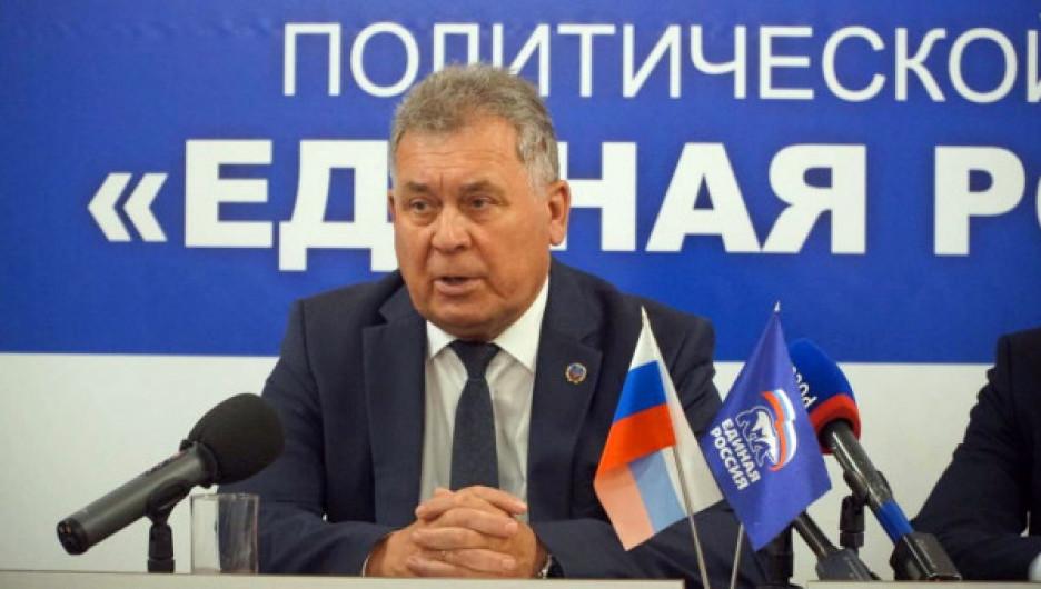 Президиум Генсовета «Единой России» согласовал кандидатуру Александра Романенко