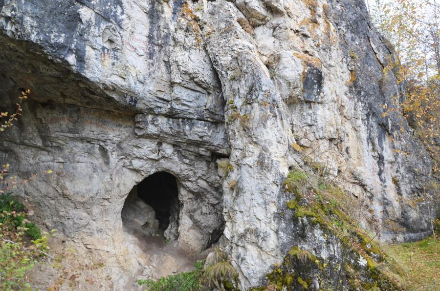 Денисова пещера в Солонешенском районе Алтайского края