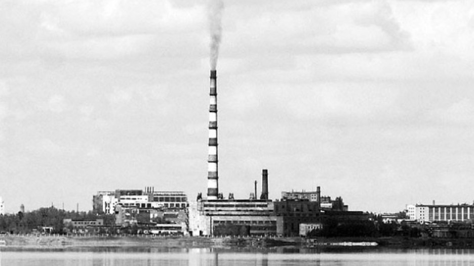 ТЭЦ в городе Яровое.