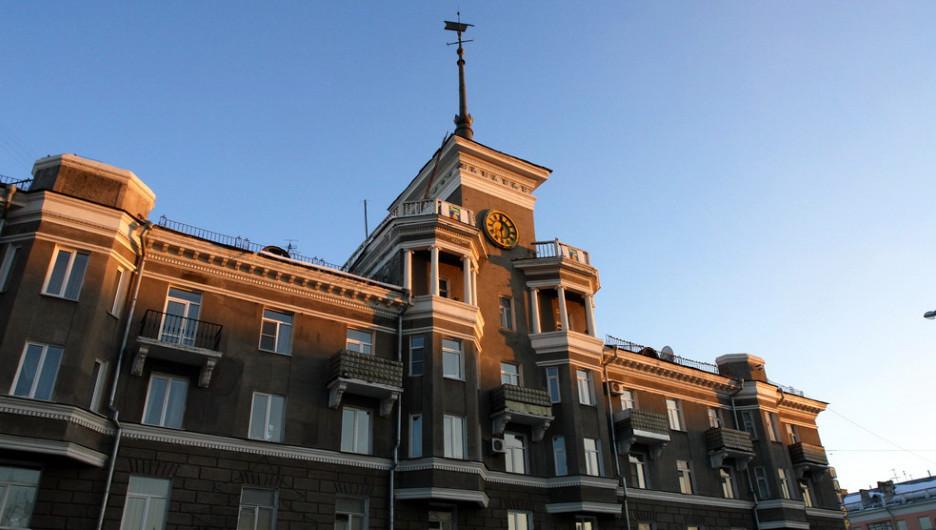 Один из главных символов города Барнаула.
