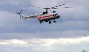 Вертолет МЧС МИ-8.
