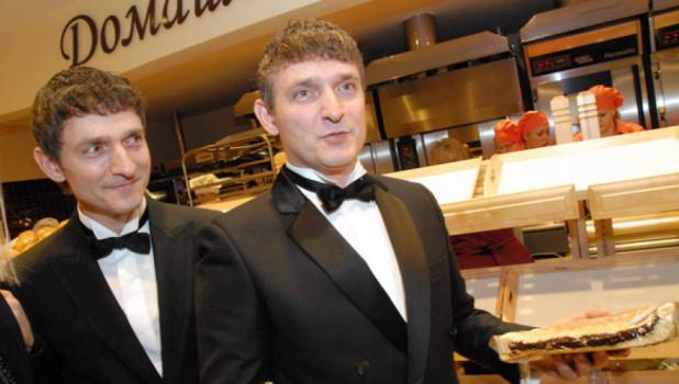 Евгений и Виталий Насоленко.