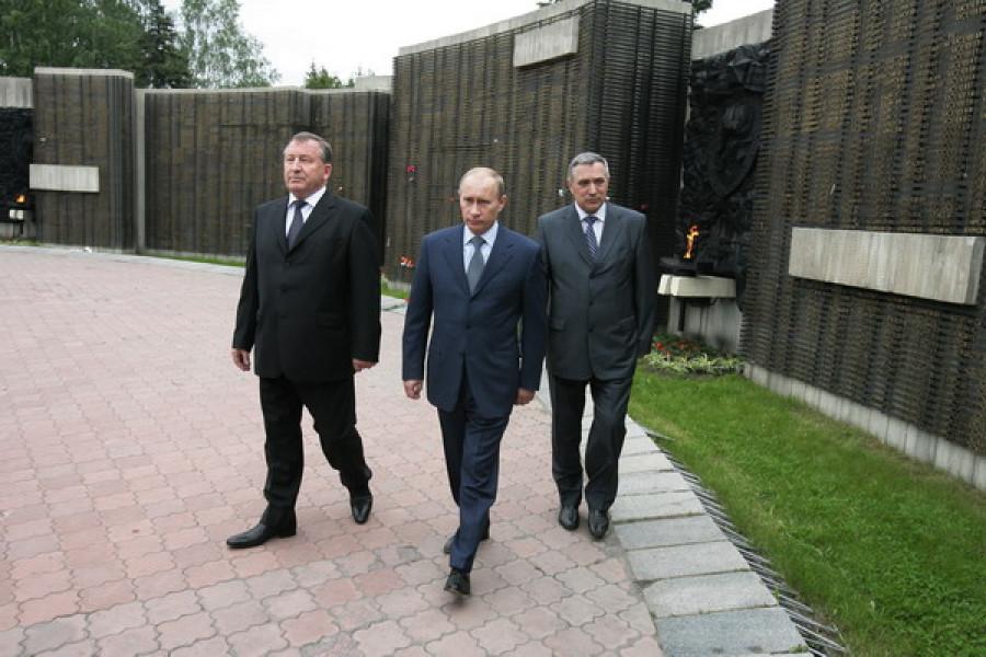 Владимир Путин в Барнауле 22 июня 2009 г.