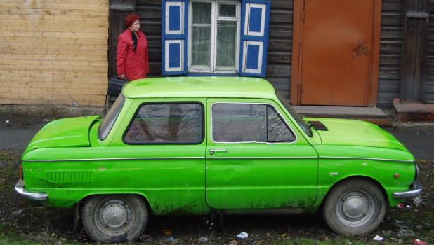 Отечественный автомобиль.
