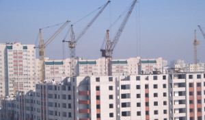 Строительство в Барнауле.