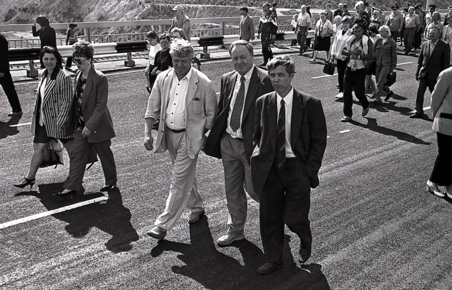 Важная бумага-1992. Эксклюзивные подробности визита президента Бориса Ельцина на Алтай