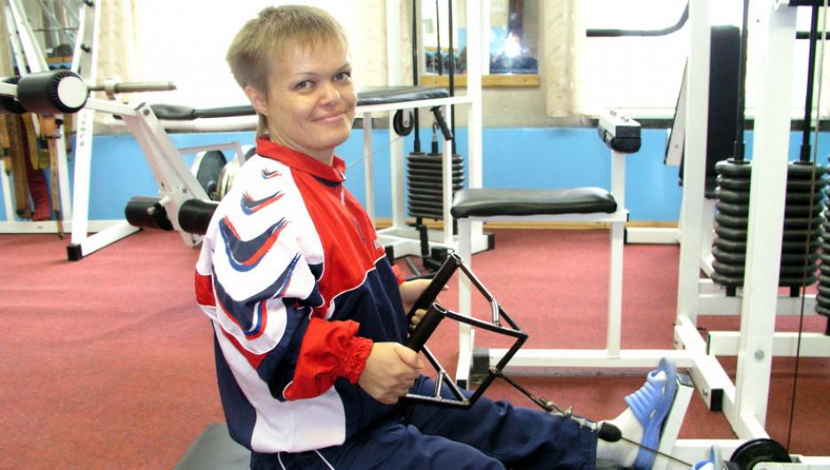 Тамара Подпальная, паралимпийская чемпионка.